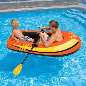 Достоинства надувных лодок ПВХ